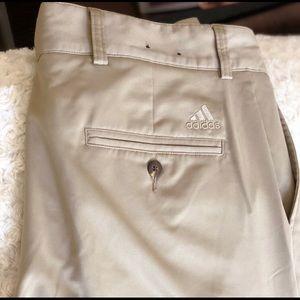 Adidas Climalite 34x32 Khaki pants